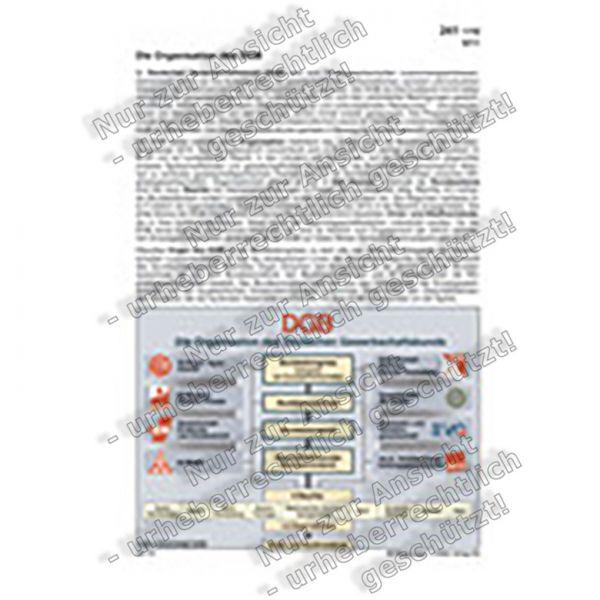 Die Organisation des DGB