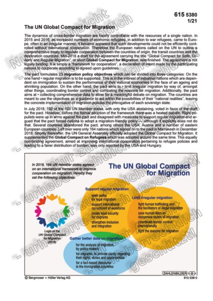 The UN Global Compact for Migration