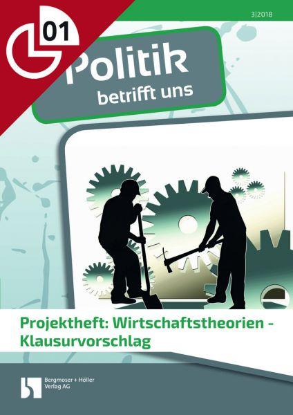 Projektheft: Wirtschaftstheorien - Klausurvorschlag
