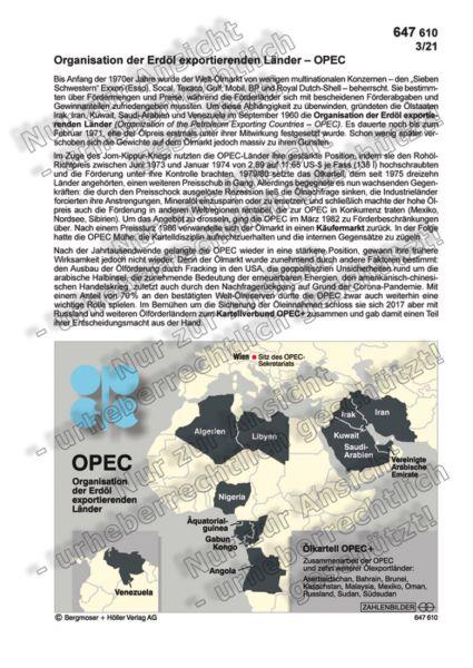 Organisation der Erdöl exportierenden Länder – OPEC