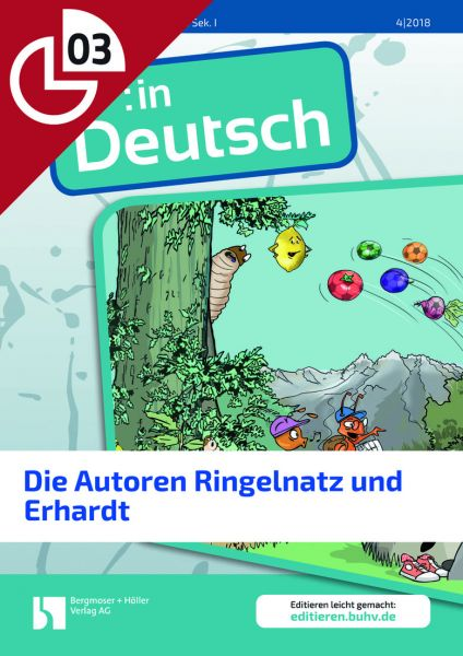 Die Autoren Ringelnatz und Erhardt (Heftteil 3)