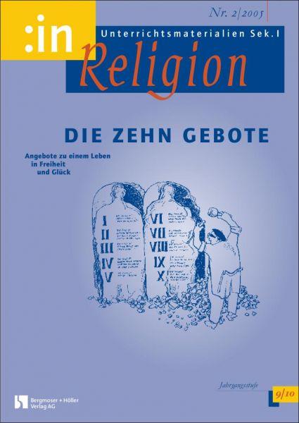 Die Zehn Gebote (kath.+ev. 9/10)