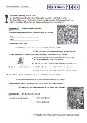 Johannes Gutenberg - 03.02.1468