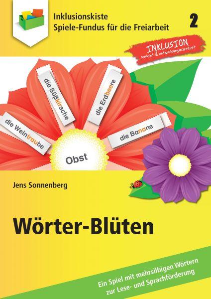 Spiele-Fundus für die Freiarbeit: Wörter-Blüten 2