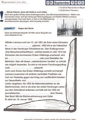 Wilhelm Lamszus - 20.09.1912