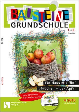 Ein Haus Mit Fünf Stübchen Der Apfel Bausteine Grundschule