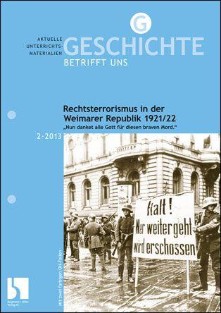 Rechtsterrorismus in der Weimarer Republik 1921/22
