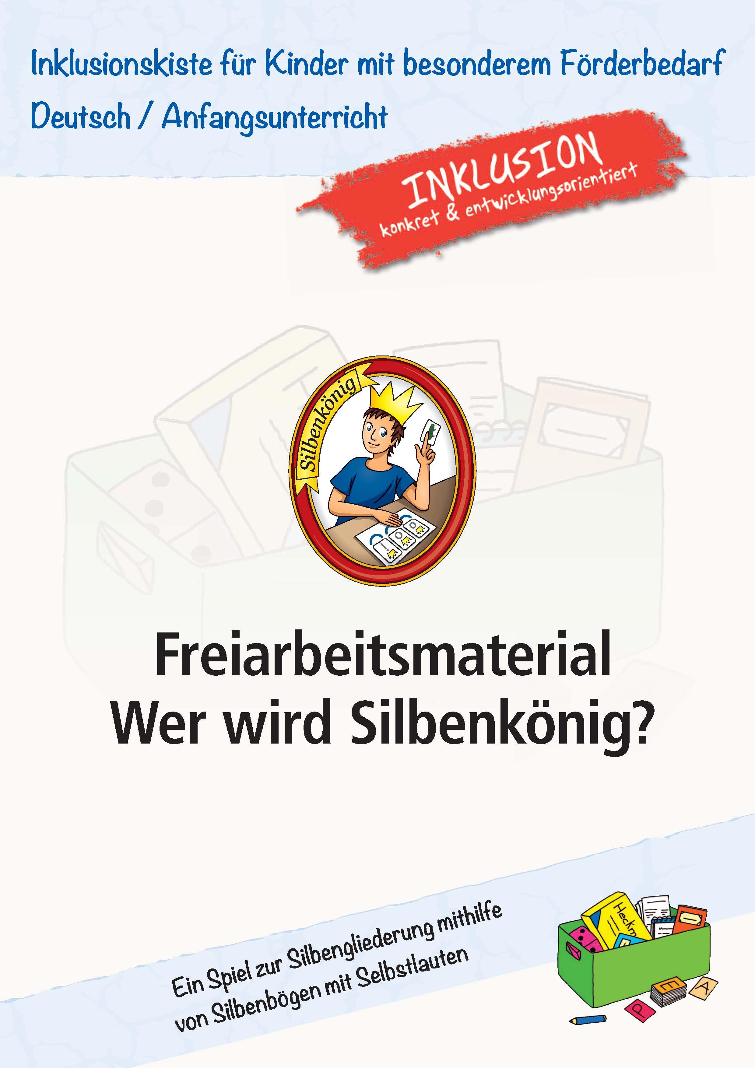 Inklusion in der Grundschule: Freiarbeitsmaterial - Wer wird ...