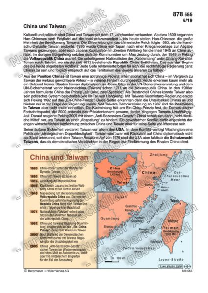 China und Taiwan