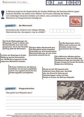 Prozess Wehrmachtsvergehen - 15.07.1947