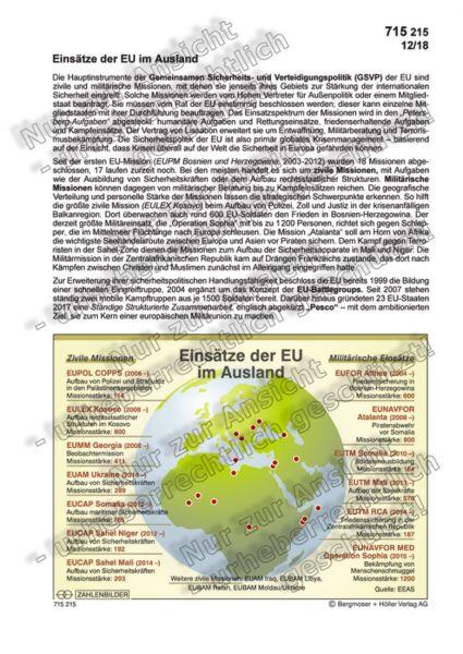 Einsätze der EU im Ausland