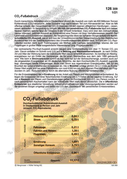 CO 2 -Fußabdruck