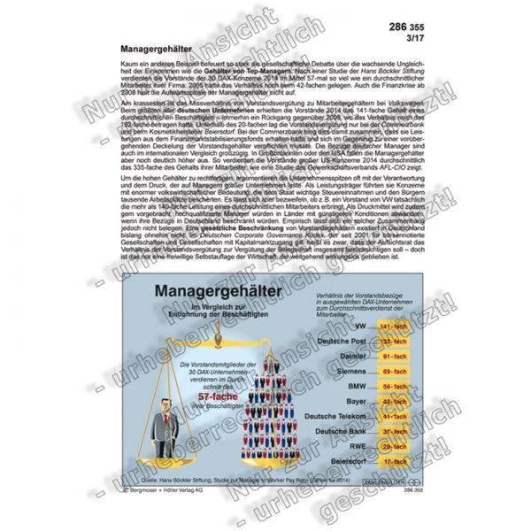 Managergehälter