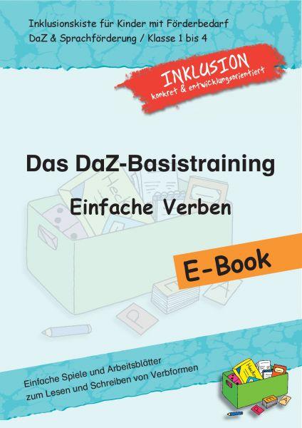 Das DaZ-Basistraining: Einfache Verben