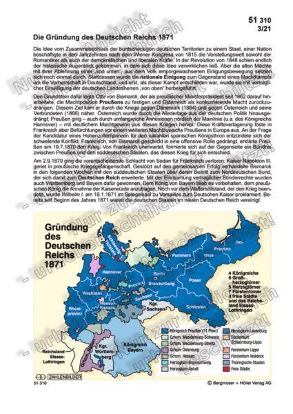 Die Gründung des Deutschen Reichs 1871