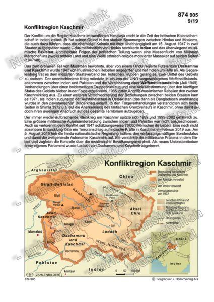Konfliktregion Kaschmir
