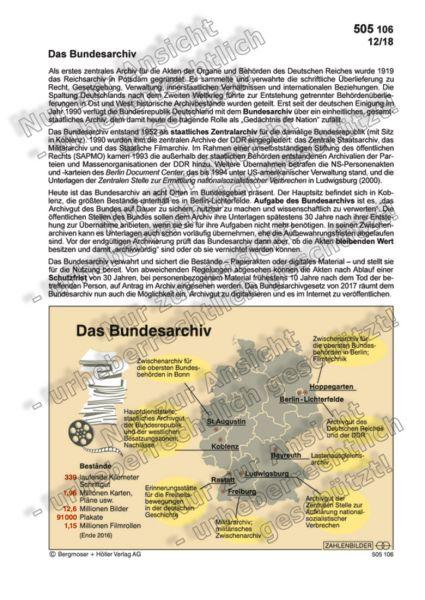 Das Bundesarchiv