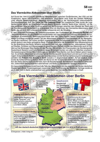 Das Viermächte-Abkommen über Berlin