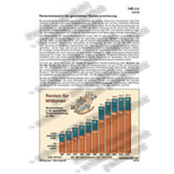 Rentenbestand in der gesetzlichen Rentenversicherung