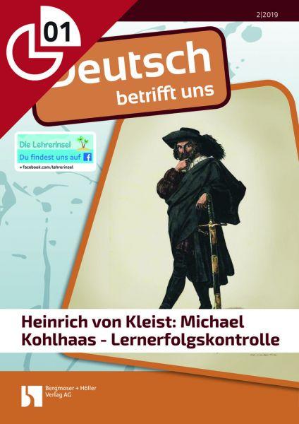 """""""Michael Kohlhaas"""" - Lernerfolgskontrolle"""