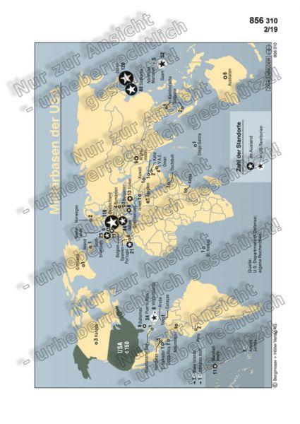 Militärbasen der USA (Infografik + Text)