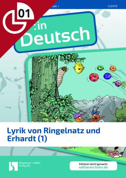 Lyrik von Ringelnatz und Erhardt (Heftteil 1)