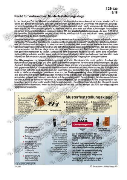 Recht für Verbraucher: Musterfeststellungsklage