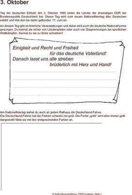 Tag der deutschen Einheit - 03.10.1990