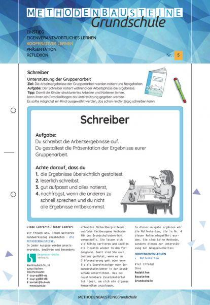 Methodenbausteine Grundschule Nr. 5