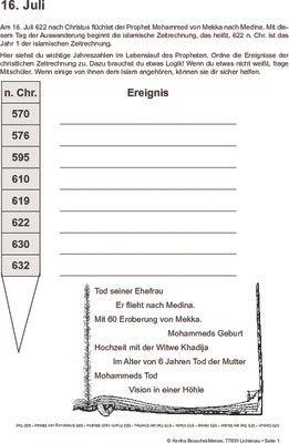 Mohammeds Flucht nach Medina - 16.07.622