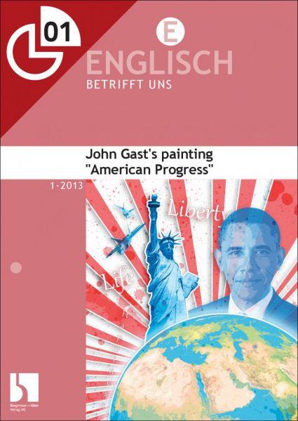 "John Gast's painting ""American Progress"""