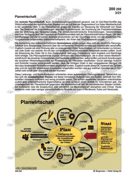 Planwirtschaft