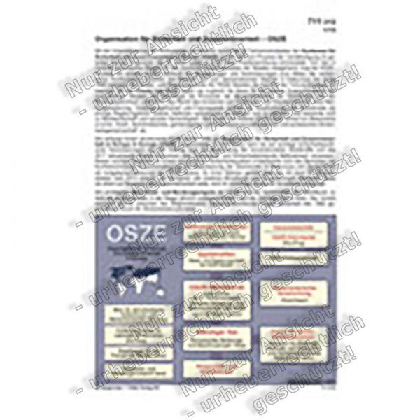 OSZE - Organisation für Sicherheit und Zusammenarbeit