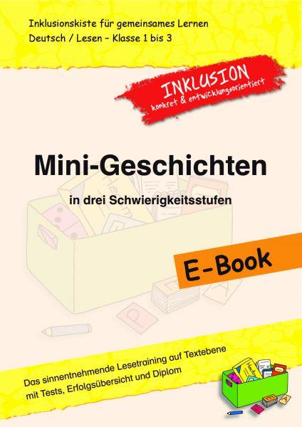 mini geschichten in drei schwierigkeitsstufen inklusionskiste deutsch grundschule. Black Bedroom Furniture Sets. Home Design Ideas