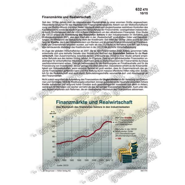 Finanzmärkte und Realwirtschaft