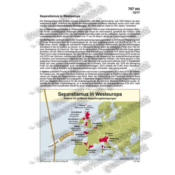 Separatismus in Westeuropa