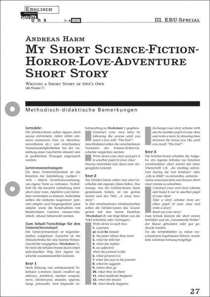 My Short Science-Fiction-Horror-Love-Adventure Short Story