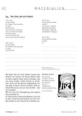 """Meditative Elemente im RU - Texte und Geschichten zum Thema """"Stille"""""""
