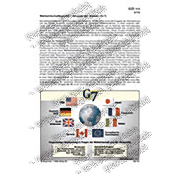 Weltwirtschaftsgipfel - Gruppe der Sieben (G-7)