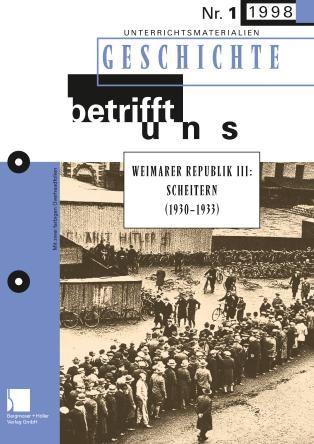 Weimarer Republik III: Scheitern