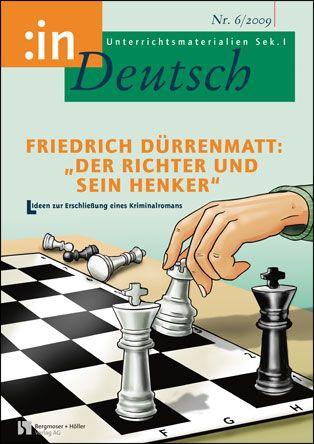 """Friedrich Dürrenmatt: """"Der Richter und sein Henker"""" (Klasse 9/10)"""