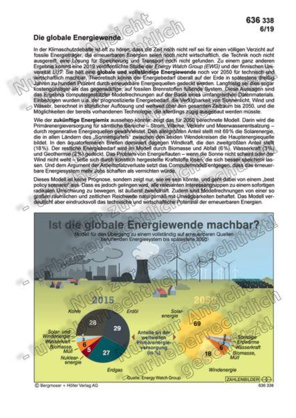 Die globale Energiewende