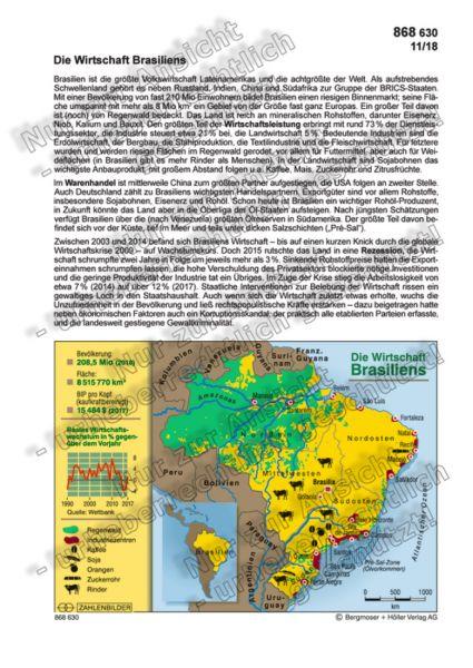 Die Wirtschaft Brasiliens