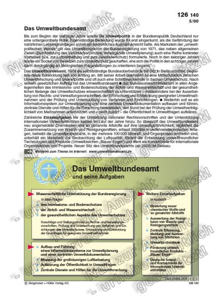 Das Umweltbundesamt und seine Aufgaben