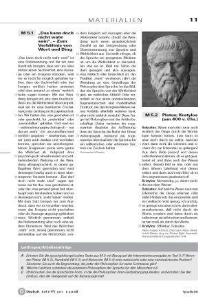 Die philosophischen Grundlagen der Sprachkritik