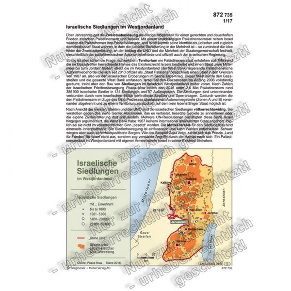 Israelische Siedlungen im Westjordanland