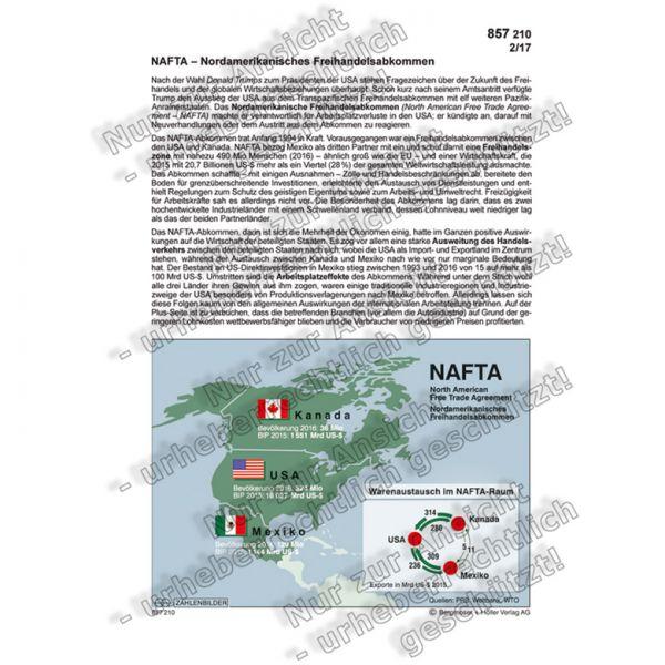NAFTA - Nordamerikanisches Freihandelsabkommen