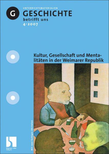 Gesellschaft, Kultur und Mentalitäten in der Weimarer Republik