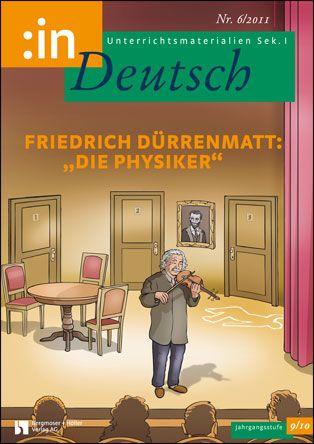 """Friedrich Dürrenmatt: """"Die Physiker"""" (Klasse 9/10)"""