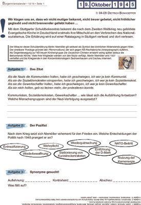 Martin Niemöller - 19.10.1945